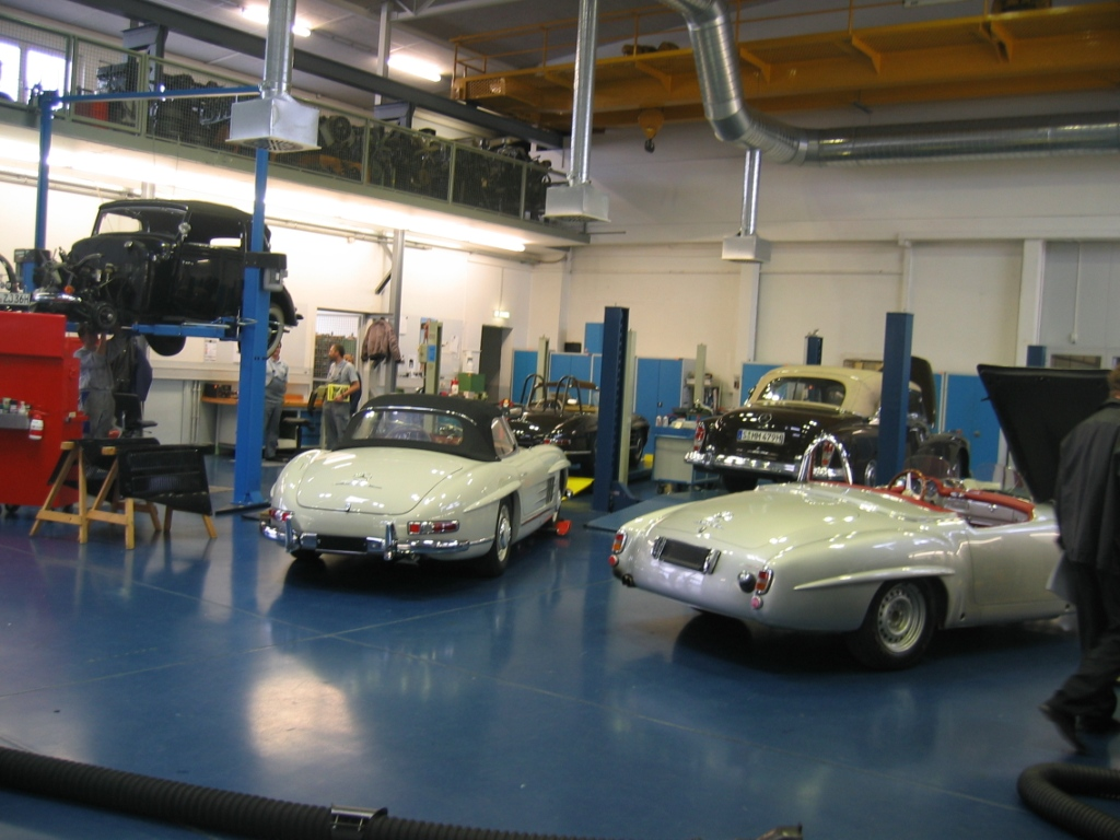 mercedes benz classic center stuttgart germany